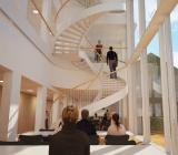 Illustration över den planerade interiören i Bartholin-komplexet vid Aarhus universitet. Illustration: Cubo Arkitekter A/S