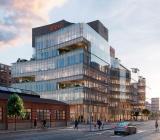 E.Ons nya nordiska huvudkontor som byggs av Skanska på uppdrag av Castellum. Illustration: Castellum/E.On