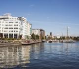 Ahlsells nya huvudkontor i Marievik/Liljeholmen i södra Stockholm. Foto: AMF Fastigheter