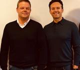 Jonas (tv) och Ulf Thelin, grundare av Trelleborgsföretaget E A Installation AB. Foto: Assemblin