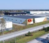 ICA Fastigheters nybygge för lager, logistik och kontor i Kungsängen