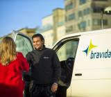 Servicetekniker från Bravida. Foto: Bravida