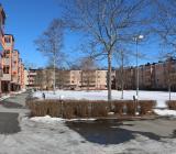 Bostadsrättsföreningen Dragonen i Sigtuna hör till HSB Arlanda. Foto: Johan Lundgren/Karby VVS
