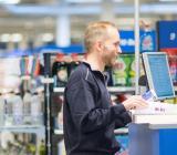 Butiksmiljö från Ahlsells verksamhet. Foto: Ahlsell