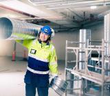 Caverion installerar vent, kyla och värme i Ikeavaruhus i Magdeburg