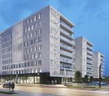 Det nya kontorsbyggnaden Technopolis Nova i Vilnius, Litauen. Illustration: Caverion