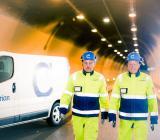 Caverion, infrastruktur, order från Trafikverket i Stockholmsområdet, vägar och tunnlar