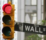 Rött ljus mot Wall Street. Foto: Colourbox