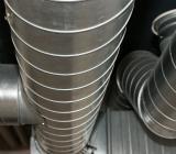 Takhängda ventilationsrör. Foto: Colourbox