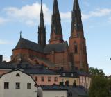 Skyline från Uppsala med domkyrkan. Foto: Colourbox