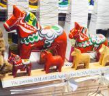 Dalahästar av olika sorter. Foto: Colourbox