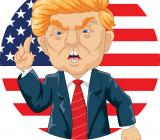 Donald Trump. Illustration: Colourbox