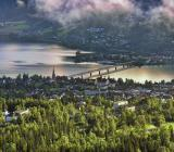 Vy över Lillehammer. Foto: Colourbox