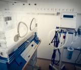 Interiör från rum i sjukhusbyggnad. Foto: Colourbox