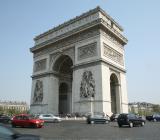 Triumfbågen i Paris. Foto: Colourbox