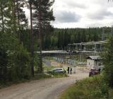 Svenska Kraftnäts  stamnätstation i Rätan, Jämtland. Foto: Eitech