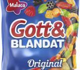 Gott & Blandat-påse från Cloetta. Foto: Cloetta