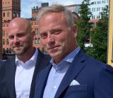 FTX vd Mikael Westberg (tv) och Instalcos affärsområdeschef Klas Larsson. Foto: Instalco