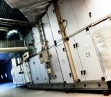 Installerade luftbehandlingsaggregat från Systemair. Foto: Systemair