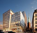 Continentalfastighetens nya kommande profil i Stockholms city. Illustration: Jernhusen