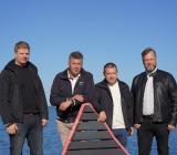 Leabs grundarkvartett: Patrik Olovsson, Magnus Rönnberg, Niklas Nyström och Stig Andersson. Foto: Leab