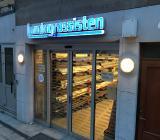 Lundagrossistens butik på Alströmergatan på Kungsholmen i Stockholm. Foto: Rolf Gabrielson