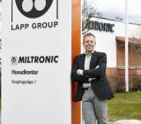 Miltronics försäljnings- och marknadschef Krister Karlsson vid företagets huvudkontor i Nyköping. Foto: Miltronic