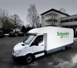 Schneider Electrics demobuss. Foto: Schneider Electric