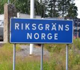 Norsk-svenska gränsen. Foto: Rolf Gabrielson