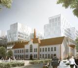 Nya Sjukhusområdet Malmö. Illustration: White Arkitekter