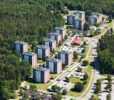 Bostadsområde i Jordbro i södra Storstockholm. Foto: Malmberg