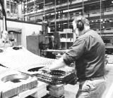 Produktion av värmeväxlare vid en av Alfa Lavals fabriker. Foto: Alfa Laval