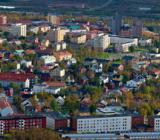 Vy över Kiruna stad. Foto: Colourbox