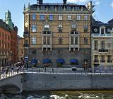 Ratos huvudkontor  vid Drottningsgatans början i centrala Stockholm. Foto: Ratos