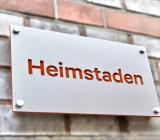 Ägarskylt vid en av Heimstadens fastigheter. Foto: Heimstaden