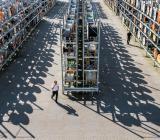 Kabellager hos Solar. Foto: Solar