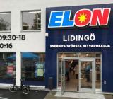 Elon/Stenlunds nya butik på Lidingö, som öppnade den 31/8 2017. Foto: Elon