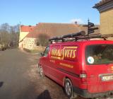 Bil från Värmesvets Entreprenad. Foto: Rolf Gabrielson