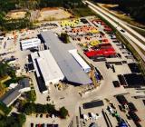 Wavins fabrik i Kjula. Foto: Wavin