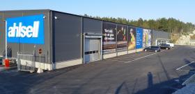Ahlsells nya butik på Bovallsvägen 7 i Södertälje. Foto: Ahlsell