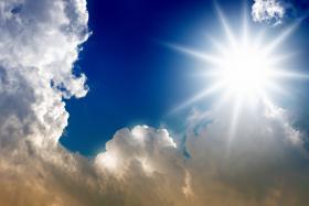 Solen lyser allt starkare som energikälla. Foto: Colourbox