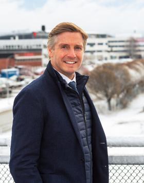 Anders Nordlöw, vd för Elektroskandia Sverige och Nordenchef för Sonepar. Foto: Elektroskandia