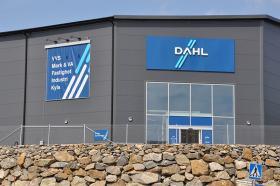 Dahls och Optimeras anläggning vid Ekobacken i Gustavsberg utanför Stockholm. Foto: Activefastighet