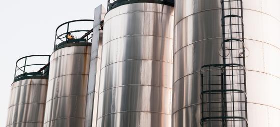 Industriproduktion i kemianläggning. Foto: Colourbox