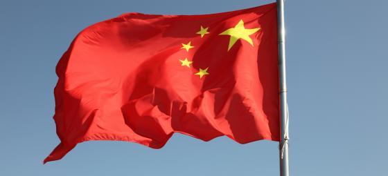 Kinesiska flaggan. Foto: Colourbox