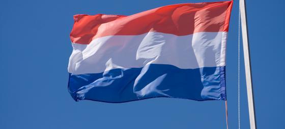 Nederländska flaggan. Foto: Colourbox