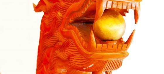 Kinesisk drake. Foto: Colourbox