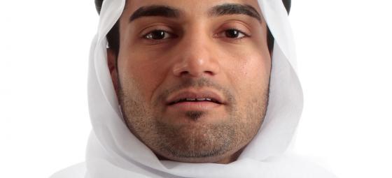 Saudiarabisk man. Foto: Colourbox