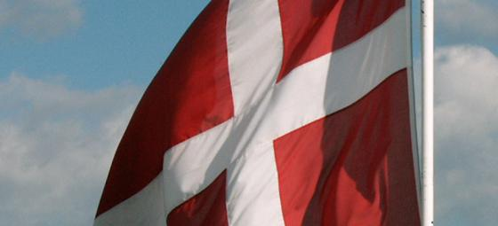 Danska flaggan. Foto: www.fotoakuten.se