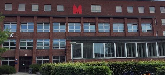 M-Huset vid Lunds Universitet. Foto: Akademiska Hus.